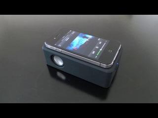 Бесповодная стереоколонка-усилитель звука 'Boose' для iPhone и мобильных телефонов